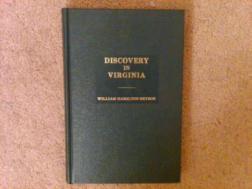 9780872152137: Discovery in Virginia