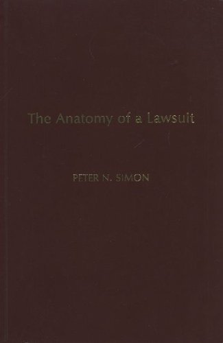 9780872157637: Anatomy of a Lawsuit