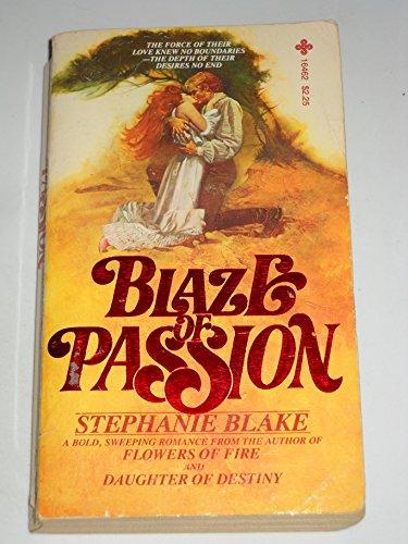 9780872164628: Blaze Of Passion