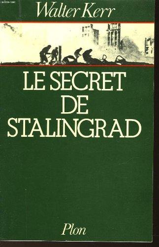 9780872165694: Le Secret de Stalingrad