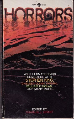 Horrors: Grant, Charles L. (editor): Dennis Etchison / David Morrell / R. Bretnor / Melis
