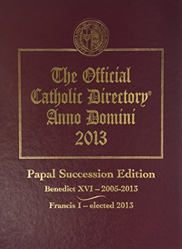 9780872170193: Official Catholic Directory: 2013 (The Official Catholic Directory)