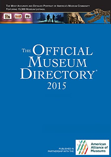 9780872170421: The Official Museum Directory 2015