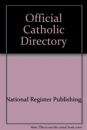 Official Catholic Directory: Editor-Jeanne Hanline