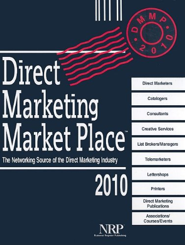 9780872178304: Direct Marketing Market Place 2010: The Networking Source of the Direct Marketing Industry