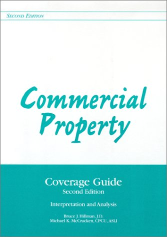 9780872183902: Commercial Property: Coverage Guide : Interpretation and Analysis/With Supplement