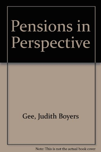 9780872184817: Pensions in Perspective