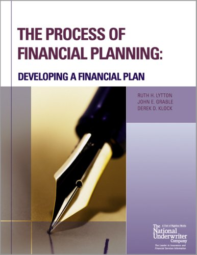 9780872186927: The Process of Financial Planning: Developing a Financial Plan