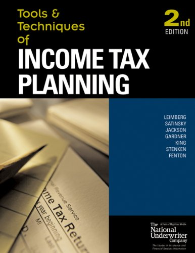 9780872186941: Tools & Techniques of Income Tax Planning (Tools & Techniques)