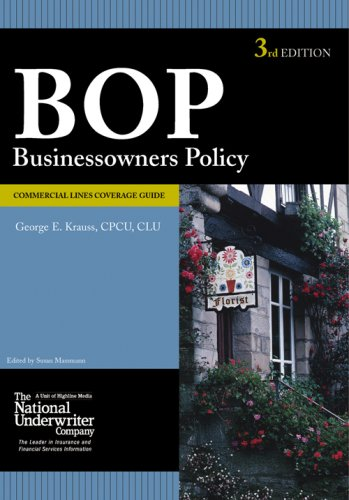 9780872187269: Businessowners Coverage Guide