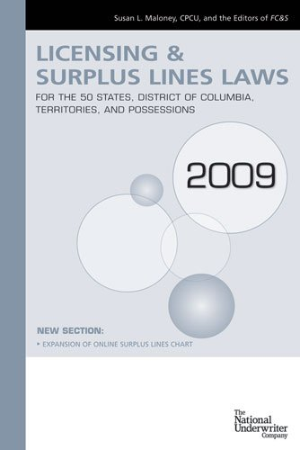 9780872188310: FC&S Licensing, Countersigning & Surplus Lines Laws 2009 ed
