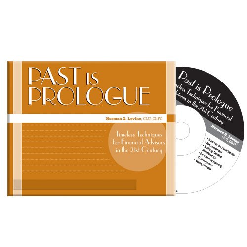 9780872189638: Past is Prologue Audio CDs (set of 8 CDs)