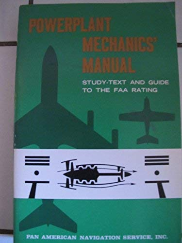 Powerplant Mechanic: The Text, General and Powerplant: Ernest Brooks