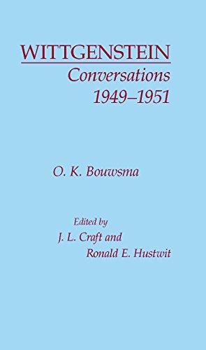 9780872200081: Wittgenstein Conversations, 1949-1951