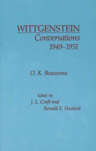 9780872200098: Wittgenstein Conversations, 1949-1951