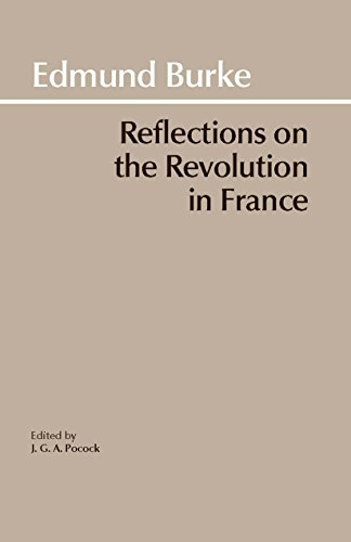 9780872200203: Reflections on the Revolution in France