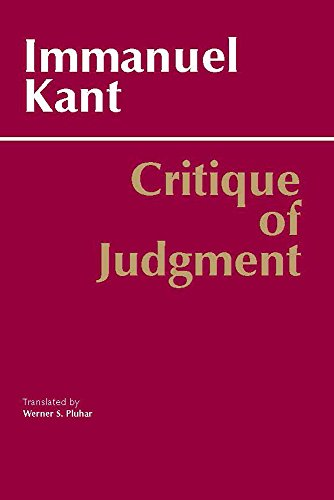 9780872200258: Critique of Judgment (Hackett Classics)