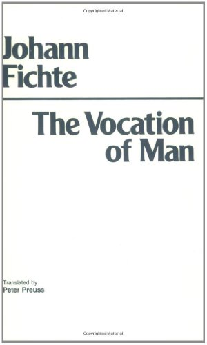 9780872200371: The Vocation of Man
