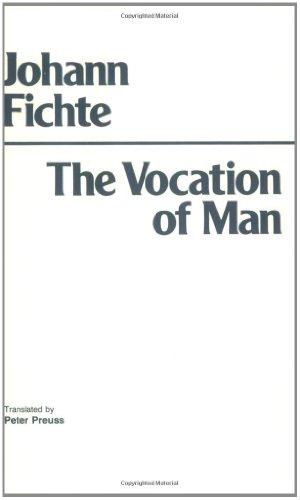 9780872200371: The Vocation of Man (Hackett Classics)