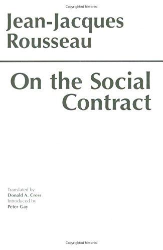 9780872200685: On the Social Contract (Hackett Classics)