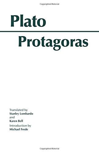 9780872200944: Protagoras (Hackett Classics)