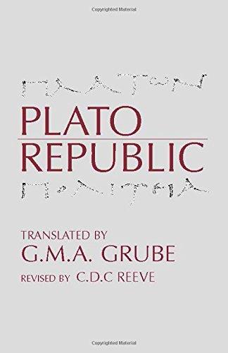 9780872201361: Plato: Republic