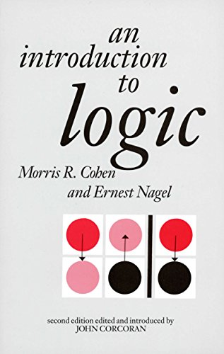 9780872201446: An Introduction to Logic