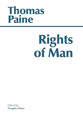 9780872201477: The Rights of Man (Hackett Classics)