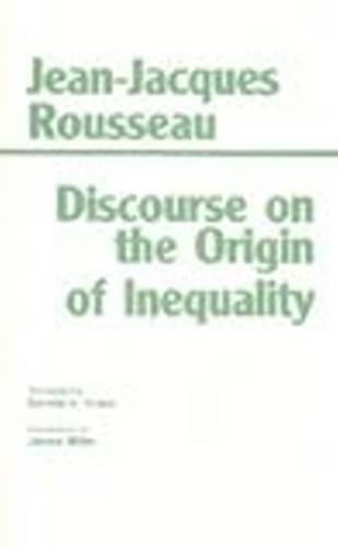 Discourse On The Origin Of Inequality NEW: Rousseau, Jean-Jacques; Cress,