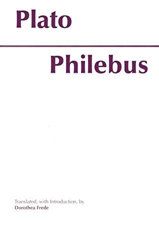 9780872201705: Philebus (Hackett Classics)