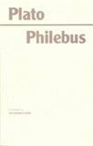 9780872201712: Philebus