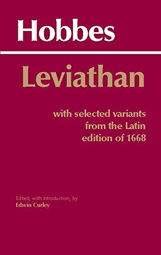 9780872201774: Leviathan: with Selected Variants from the Latin Edition of 1668