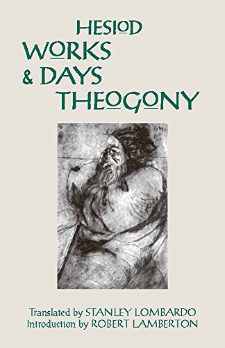 Works and Days and Theogony (Hackett Classics) (0872201791) by Hesiod