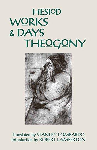 9780872201798: Works and Days and Theogony (Hackett Classics)