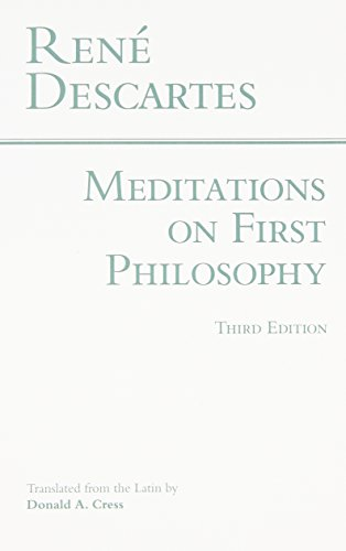 9780872201927: Meditations on First Philosophy