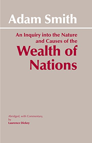 9780872202047: The Wealth of Nations: Inquiry into the Nature and Causes of the Wealth of Nations