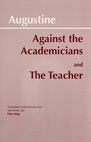 9780872202122: Against Academicians and the Teacher