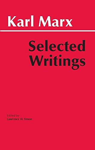 9780872202184: Marx: Selected Writings (Hackett Classics)