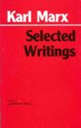 9780872202191: Marx: Selected Writings (Hackett Classics)