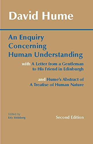9780872202290: An Enquiry Concerning Human Understanding: with Hume's Abstract of A Treatise of Human Nature and A Letter from a Gentleman to His Friend in Edinburgh (Hackett Classics)