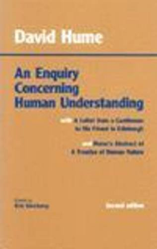 9780872202306: An Enquiry Concerning Human Understanding: with Hume's Abstract of A Treatise of Human Nature and A Letter from a Gentleman to His Friend in Edinburgh (Hackett Classics)