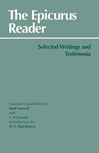 9780872202412: The Epicurus Reader: Selected Writings and Testimonia
