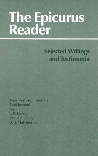 9780872202429: The Epicurus Reader: Selected Writings and Testimonia (Hackett Classics)