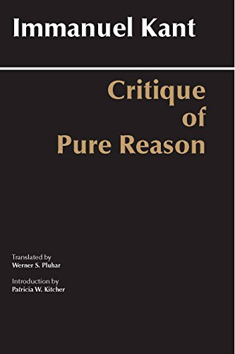 9780872202573: Critique of Pure Reason