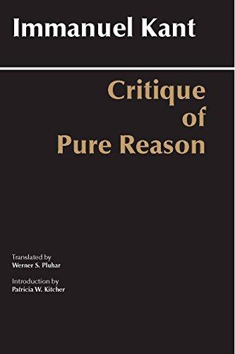 9780872202573: Critique of Pure Reason