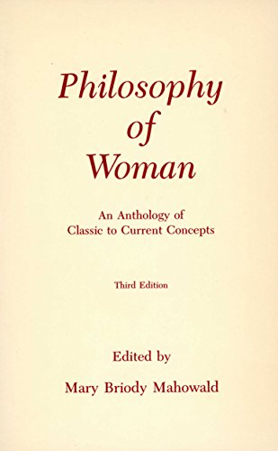 9780872202610: Philosophy of Woman: An Anthology of Classic to Current Concepts