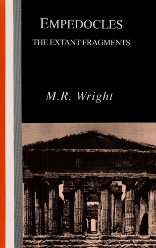 Empedocles: The Extant Fragments: Wright, M. R.