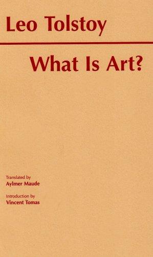 9780872202955: What Is Art? (Hackett Classics)