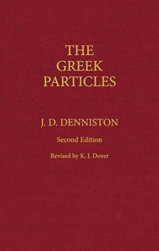 9780872202993: Greek Particles