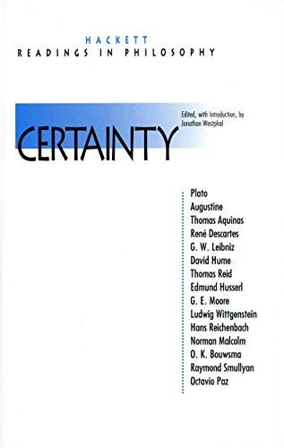 Certainty (Hackett Readings in Philosophy): Westphal, Jonathan